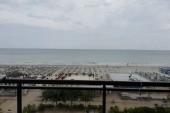 Výhled z balkonu.