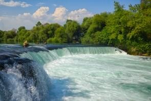 Vodopády na řece Manavgat