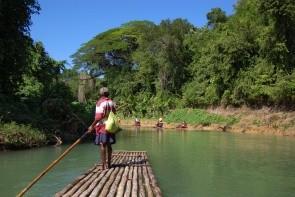 Rafting na rieke Martha Brae
