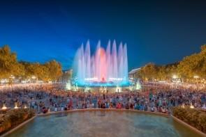 Magická fontána