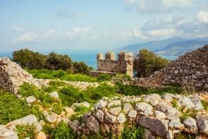 Ruiny hradu Cefalù