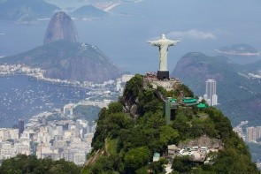 Hora Corcovado a Socha Krista Spasiteľa