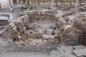 Archeologické náleziská Akrotiri