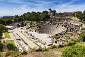 Zrúcaniny rímskeho divadla Fourviere