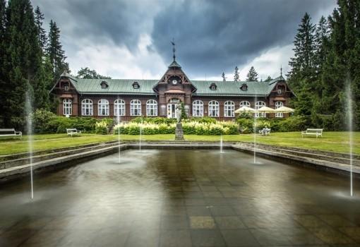 Lázeňské domy - Karlova Studánka