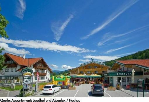 Apartmány Jagdhof & Alpenfex