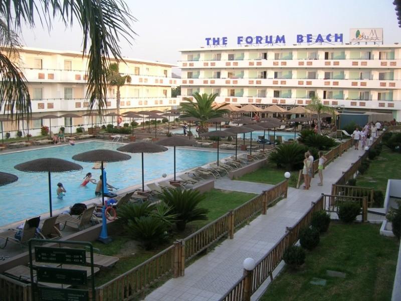 Hotel Forum Beach, recenzie hotela Forum Beach, dovolena a zájazdy do hotela Forum Beach