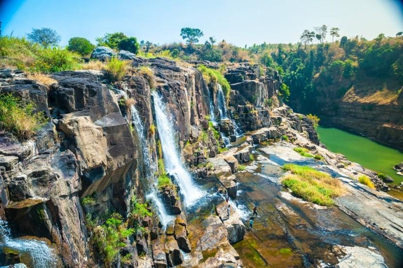 Vodopády v oblasti Da Lat