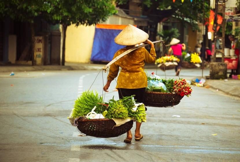 Život v uliciach Hanoie