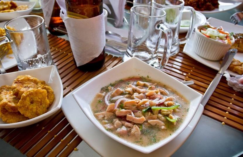 Typická kuchyňa Galapág