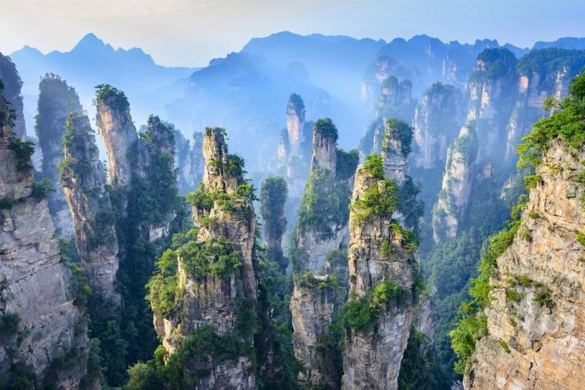 Národný park ZhangJiaJie v Číne
