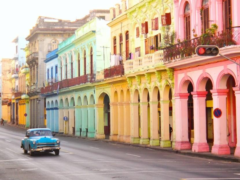 Havana, hlavné mesto Kuby