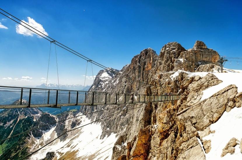 Dachsteinský visutý most
