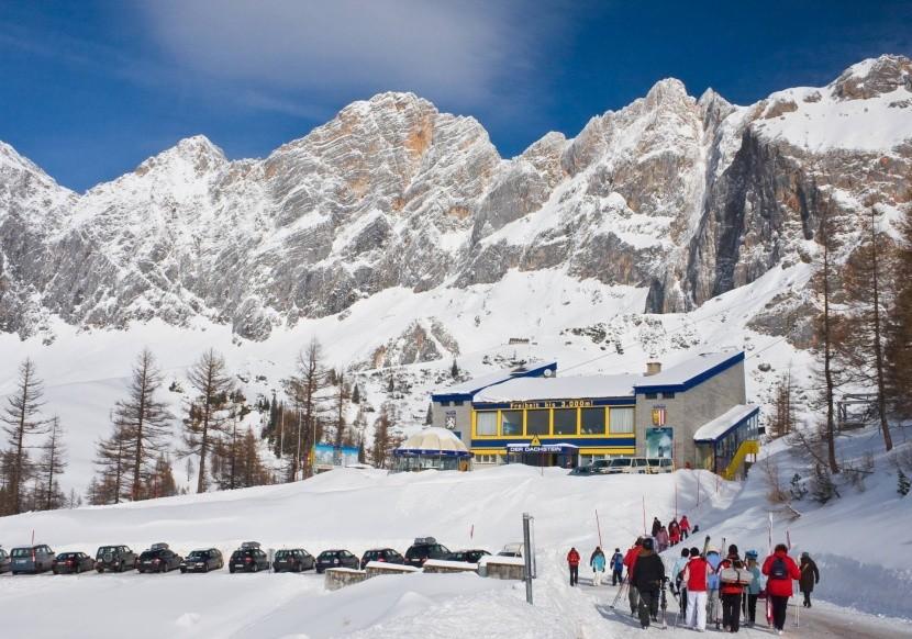 Dolná stanica lanovky na Dachsteinský ľadovec
