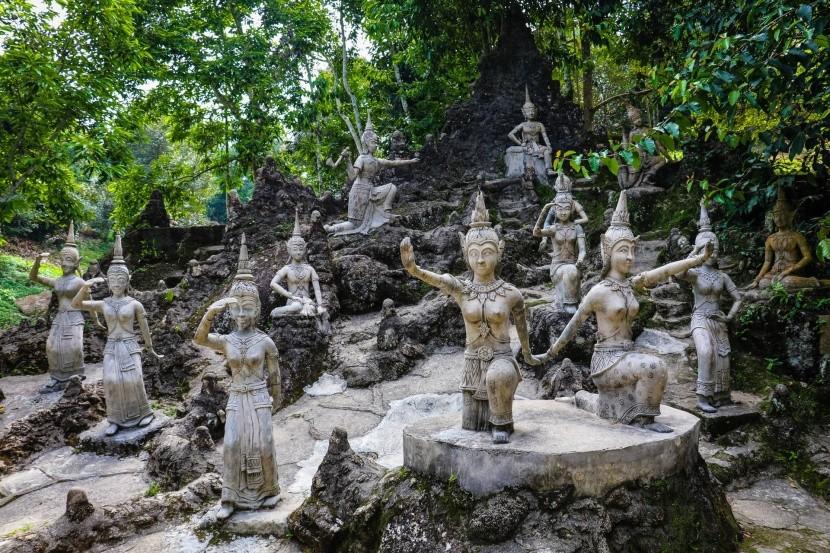 Buddhova záhrada na Koh Samui