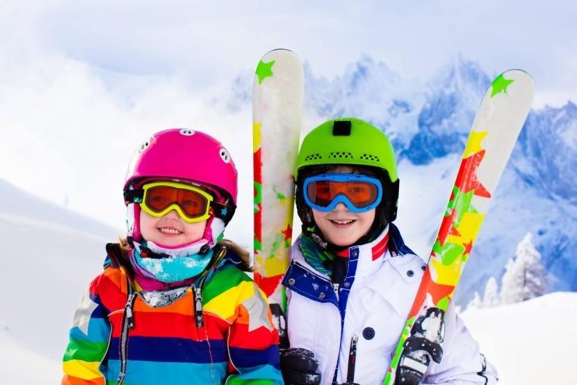 Lyžiarska dovolenka s deťmi