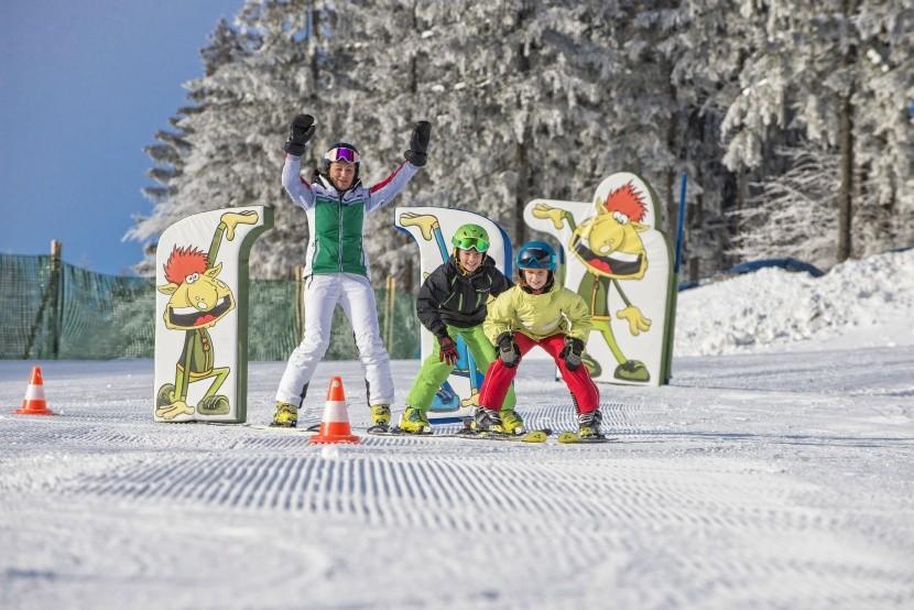 Detský park v skiareále Hochficht