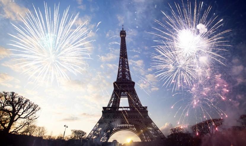 Silvester v Paríži