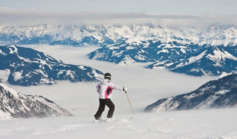 Lyžovanie v rakúskych Alpách