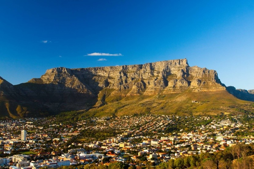 Stolová hora nad Kapským Mestom