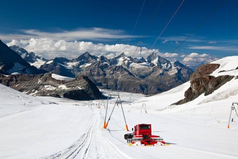 Letná sezóna v Zermatt Ski Paradise