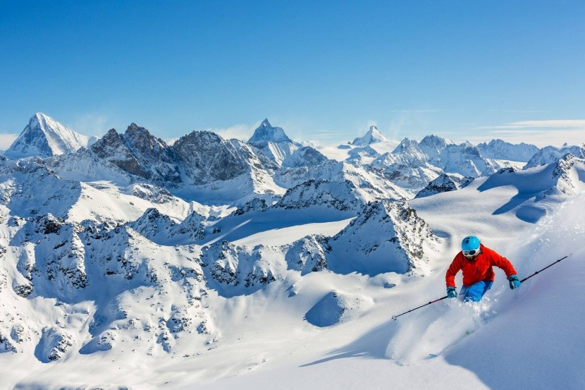 Lyžovanie vo Švajčiarsku