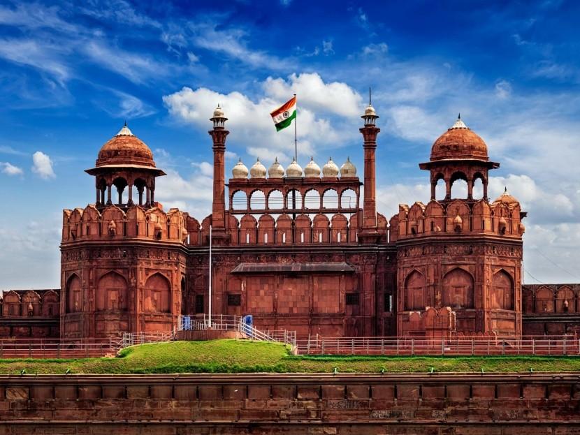 Červená pevnosť, Dillí, India
