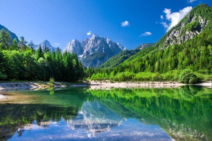 Národný park Triglav, Julské Alpy, Slovinsko