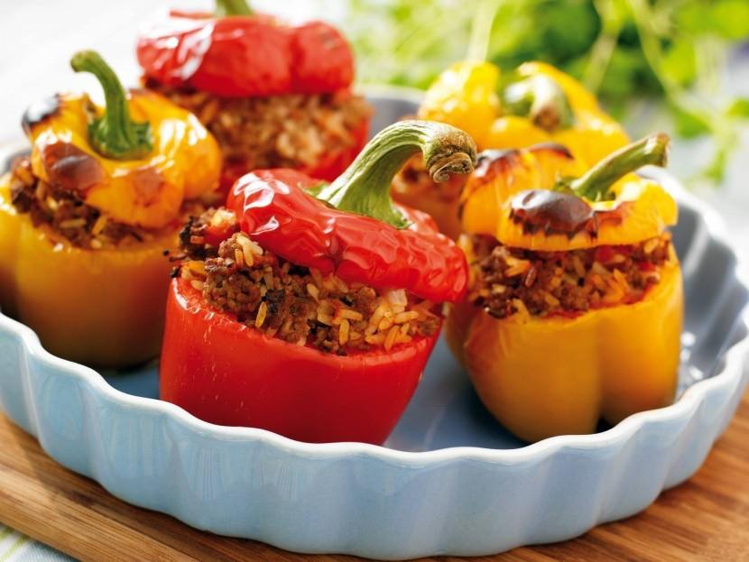 Bulharské plnené papriky