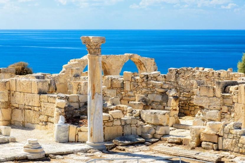 Archeologické nálezisko Kourion, Cyprus