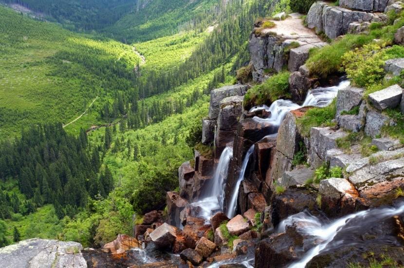 Pančavské vodopády, Krkonoše