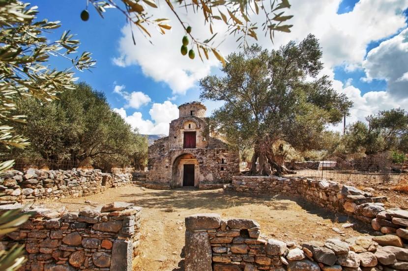 Kostol Agii Apostoli, Naxos, Grécko