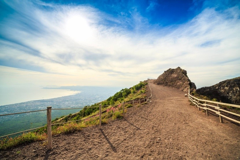 Cesta na vrchol Vezuv