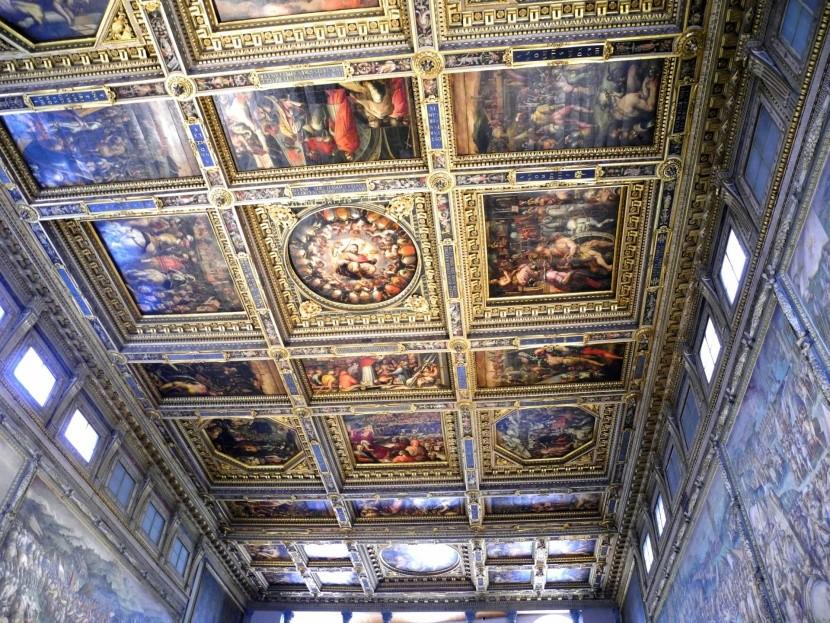 Palazzo Vecchio - Sála päťsto