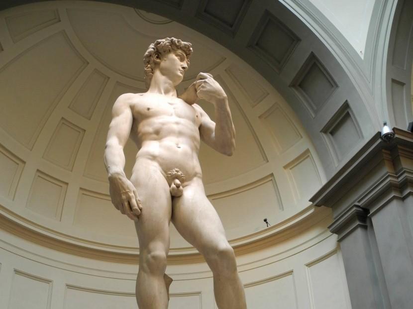 Originál sochy Davida