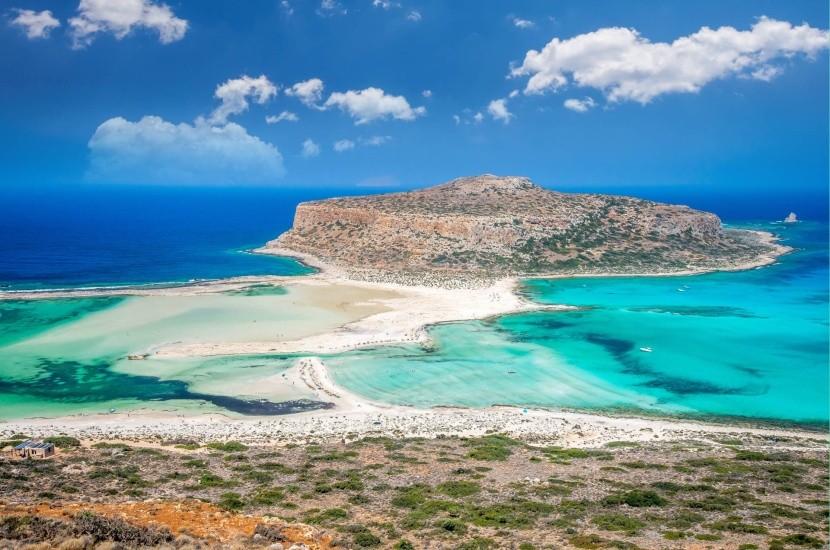 Zátoka Balos, Kréta