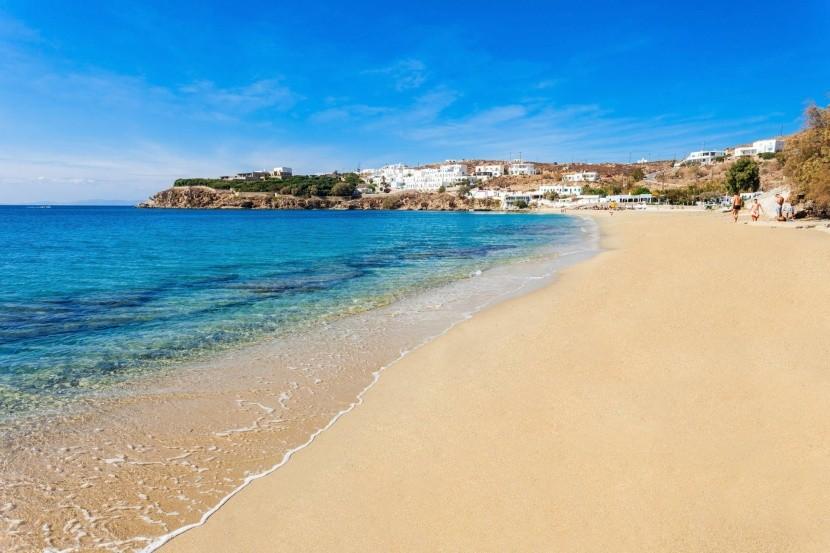 Pláž Agios Stefanos, Mykonos