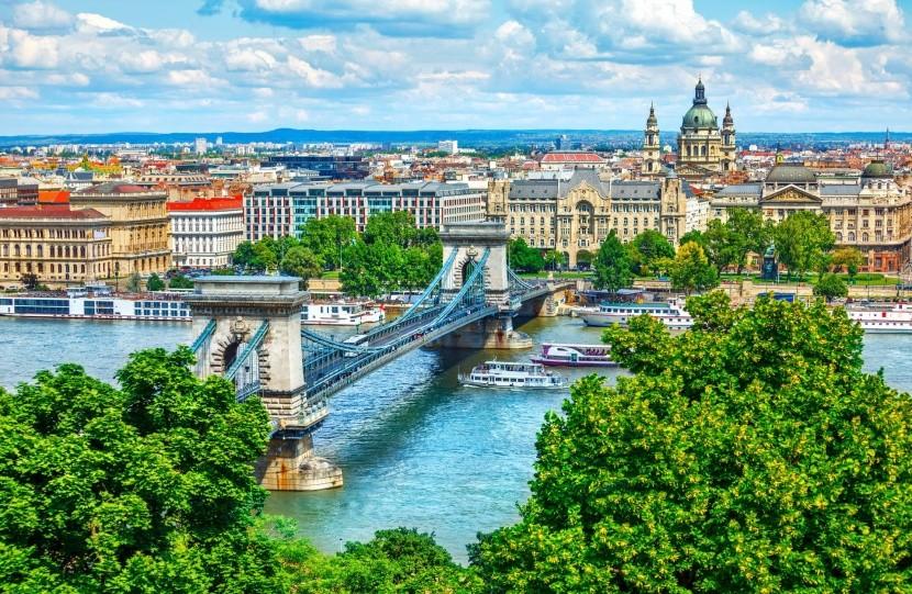 Pohľad na Budapešť