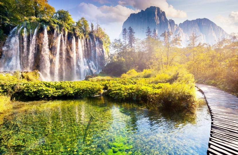 Plitviské jazerá, Chorvátsko