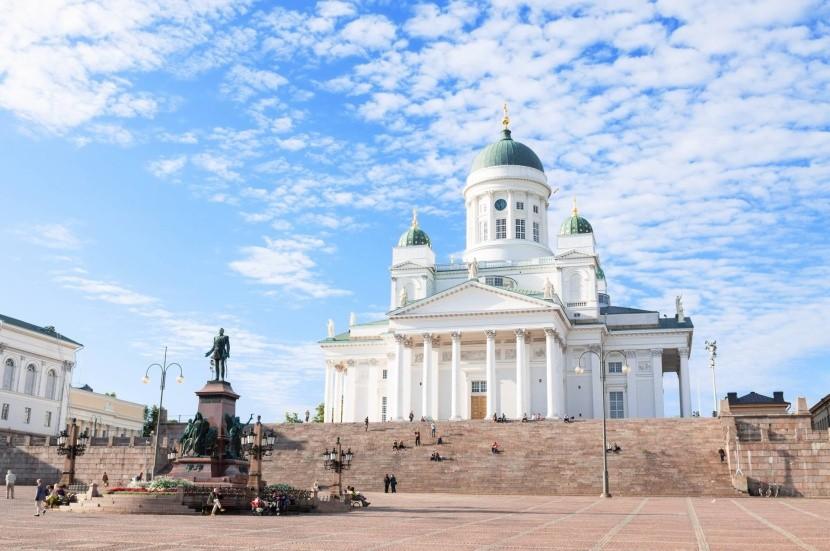 Katedrála Tuomiokirkko, Helsinky