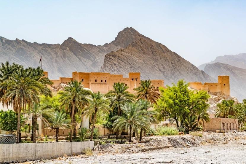 Pevnosť Nachal, Omán