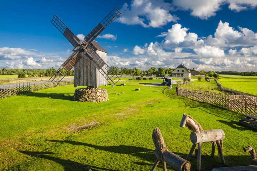 Veterné mlyny sú symbolom ostrova Saaremaa