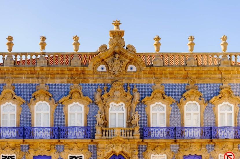 Nádherná architektúra mesta Braga