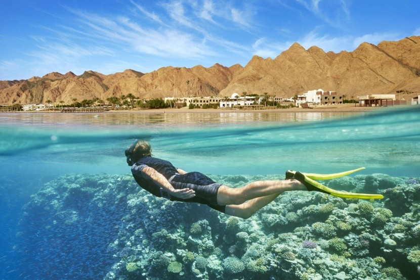 Do Egypta nezabudnite šnorchel