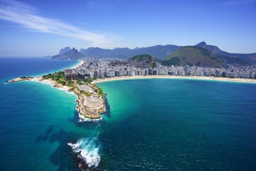 Pobrežie a pláže v Riu