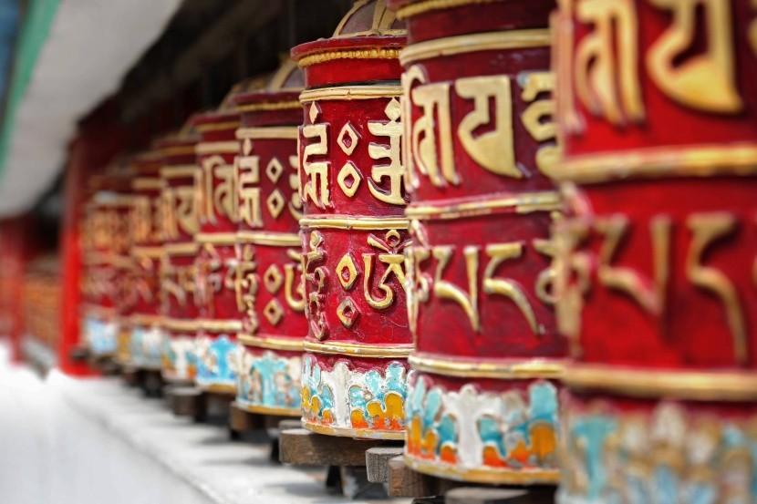Budhistické modlitebné mlynčeky