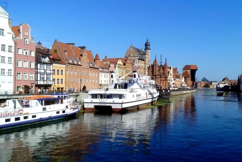 Nábrežie v Gdaňsku
