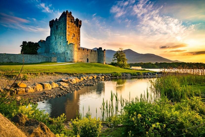 Hrad Ross, Írsko