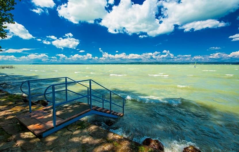 Severné pobrežie Balatonu