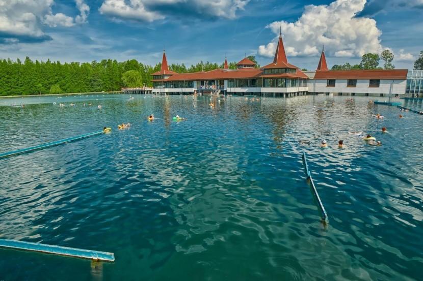 Termálne jazero Hévíz